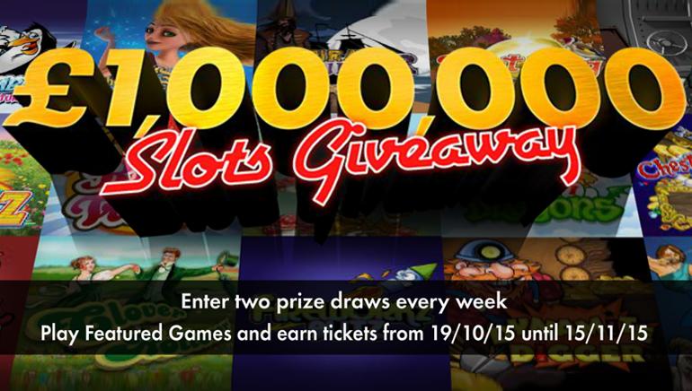Виграй статок, граючи у bet365 казино: £ 1,000,000 / $ 1,500,000