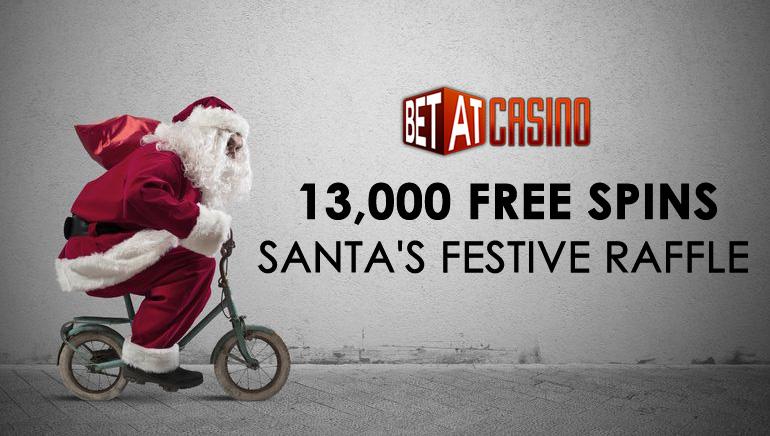 Мішок Санти повен 13 000 безкоштовних обертів від BETAT казино