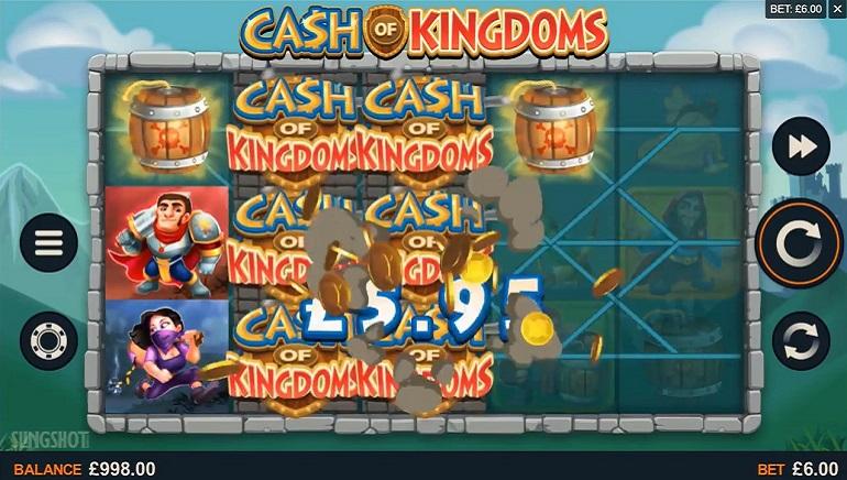 Microgaming запускає свій новий слот Cash of Kingdoms