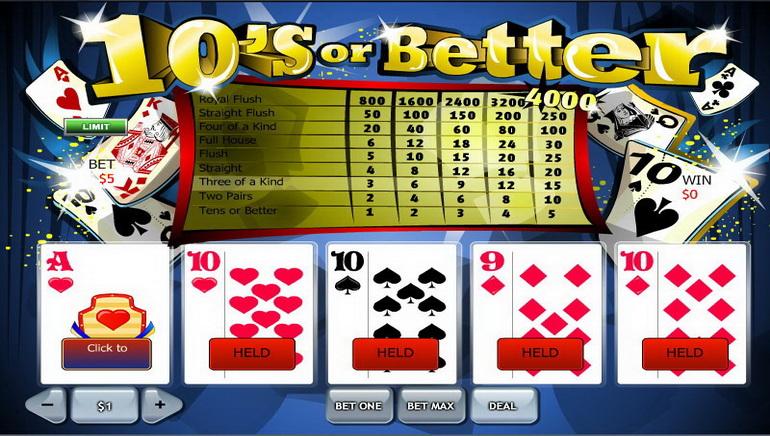 Онлайн відео покер