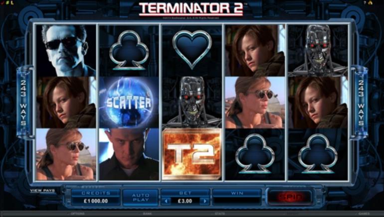 Випуск нової гри: відео слот Термінатор 2 вже запущено.